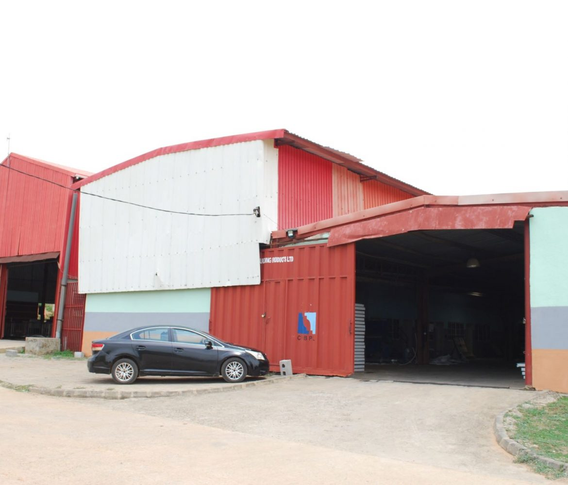 Factory Front view